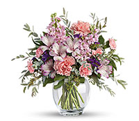 Pretty Pastel Vase Arrangement