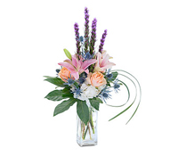 Frosted Sorbet Vase Arrangement