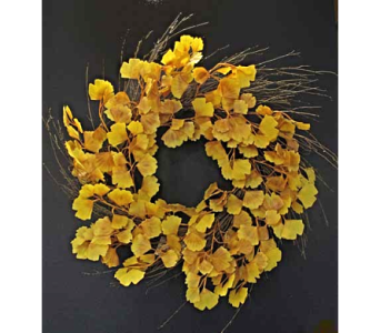Gingko Wreath